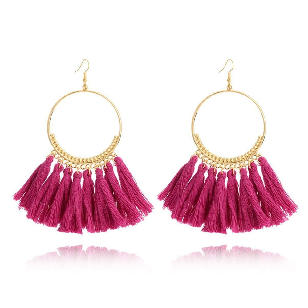 Elegant Bohemia Tassel Earrings