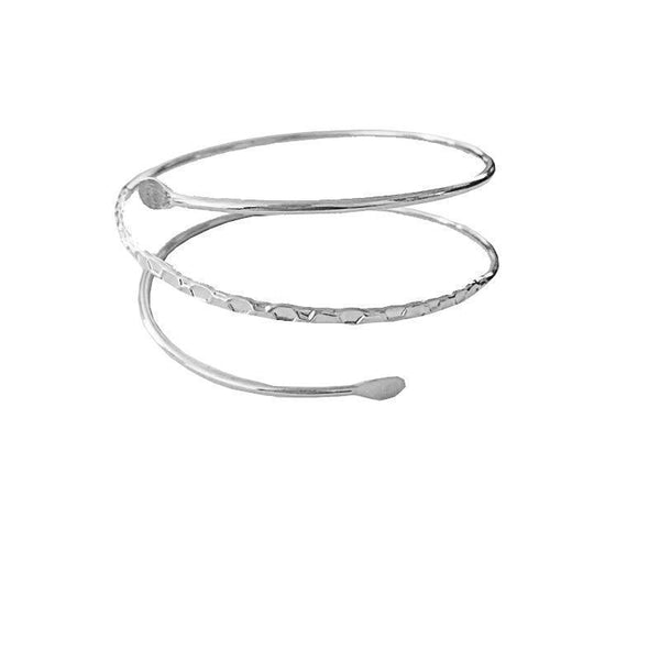 Simple Three-Ring Bracelet Metal Armband