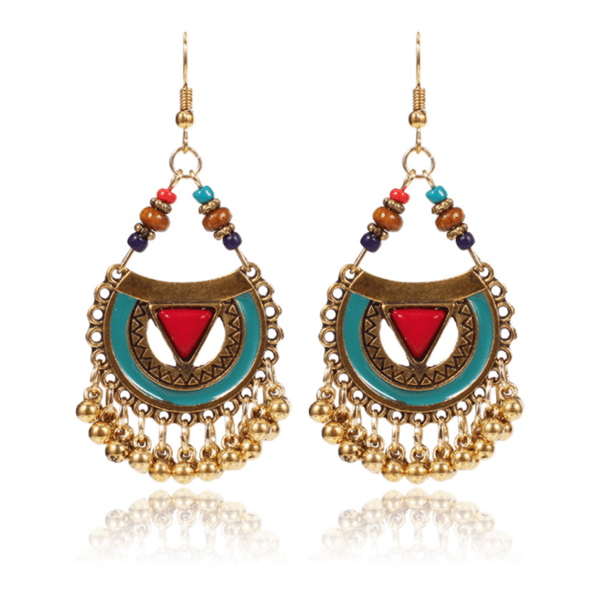 Bohemian retro temperament wild earrings