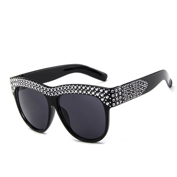 Fashion   wild big box retro sunglasses