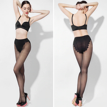 Load image into Gallery viewer, Sheer Indestructible Stockings - 15D Butterfly