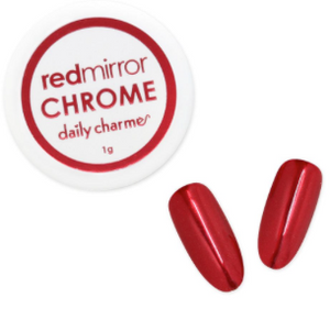 Mirror Red Chrome Powder