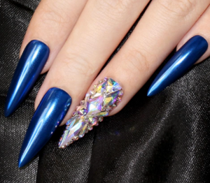Royal Blue Chrome Powder