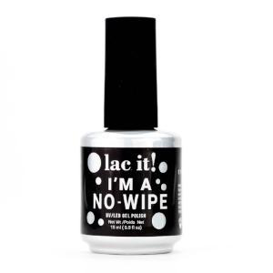 Lac It! No-Wipe Top Coat