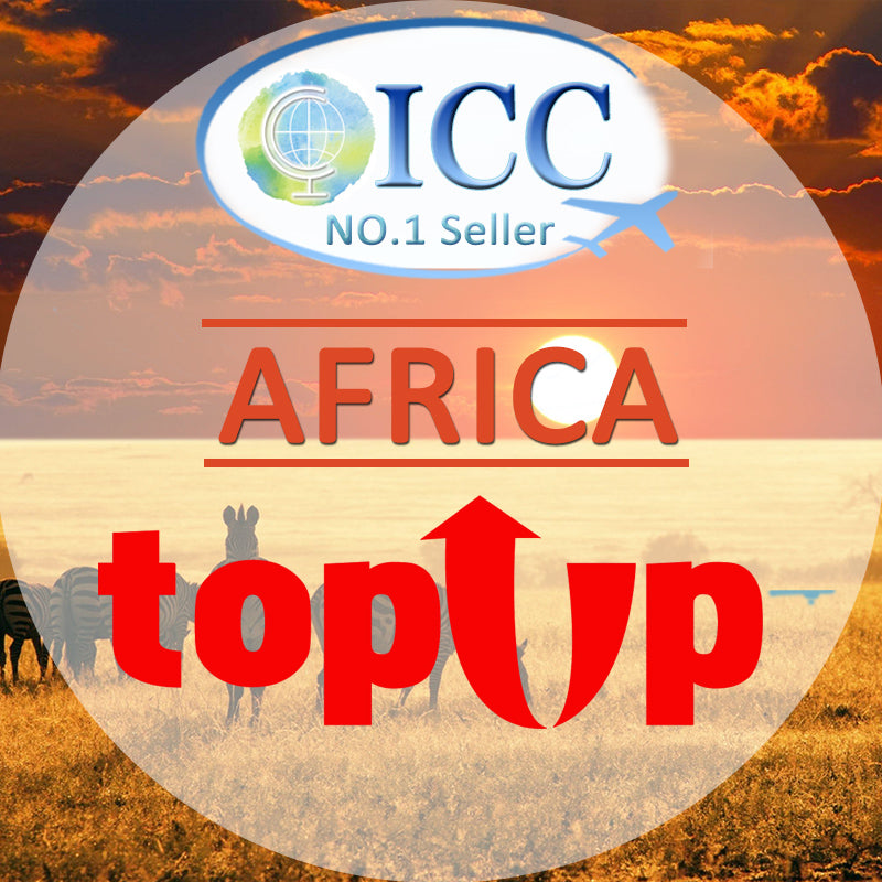 ICC-Top Up- Africa 1- 30 Days Unlimited Data
