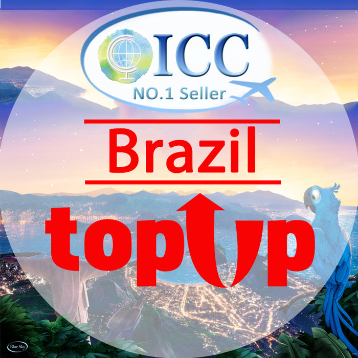 ICC-Top Up- Brazil 1- 30 Days Unlimited Data
