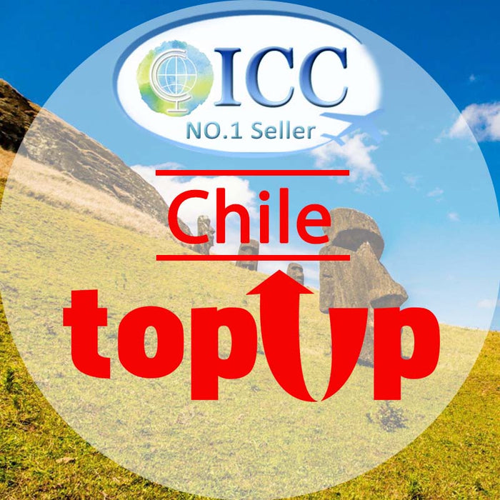 ICC-Top Up- Chile 1- 30 Days Unlimited Data