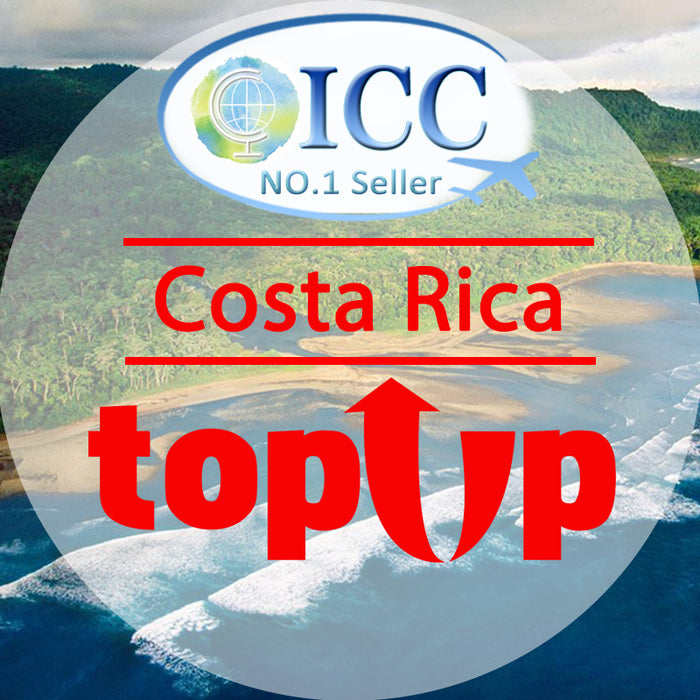 ICC-Top Up- Costa Rica 1- 30 Days Unlimited Data