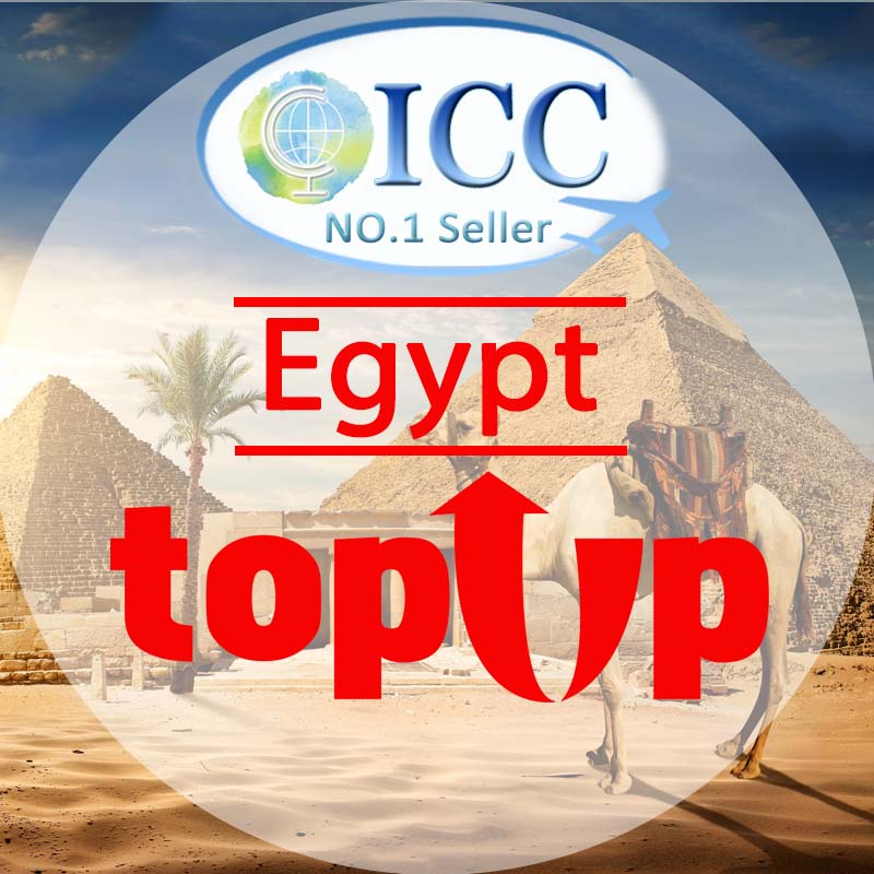 ICC-Top Up- Egypt 1- 30 Days Unlimited Data