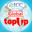 ICC-Top Up-【Global 1- 30 Days】Unlimited data Plan