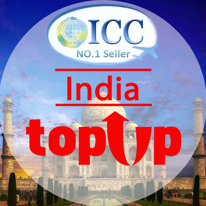 ICC-Top Up- India 1- 30 Days Unlimited Data