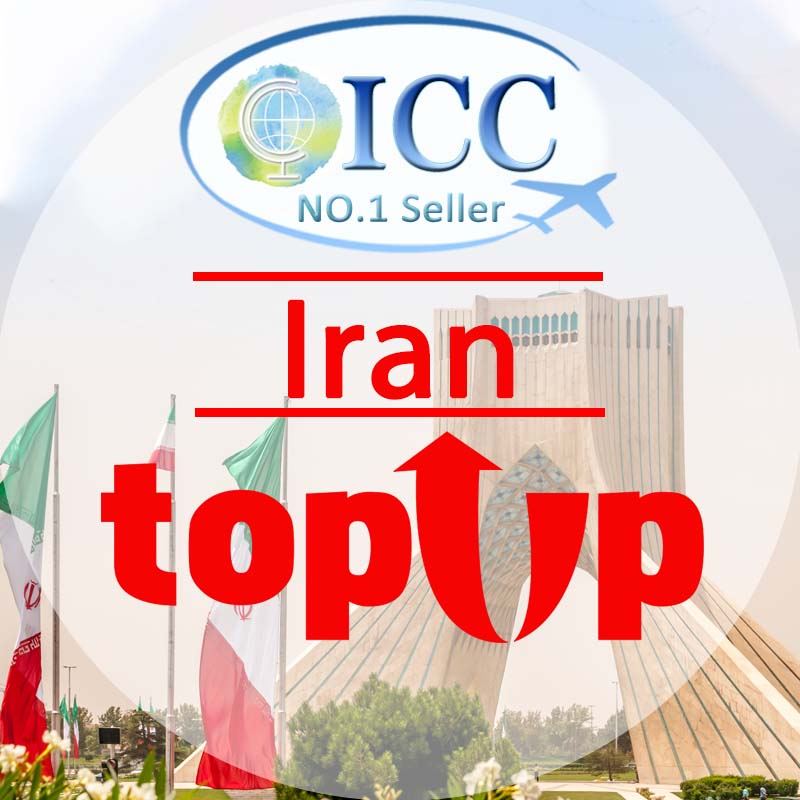 ICC-Top Up- Iran 1- 30 Days Unlimited Data