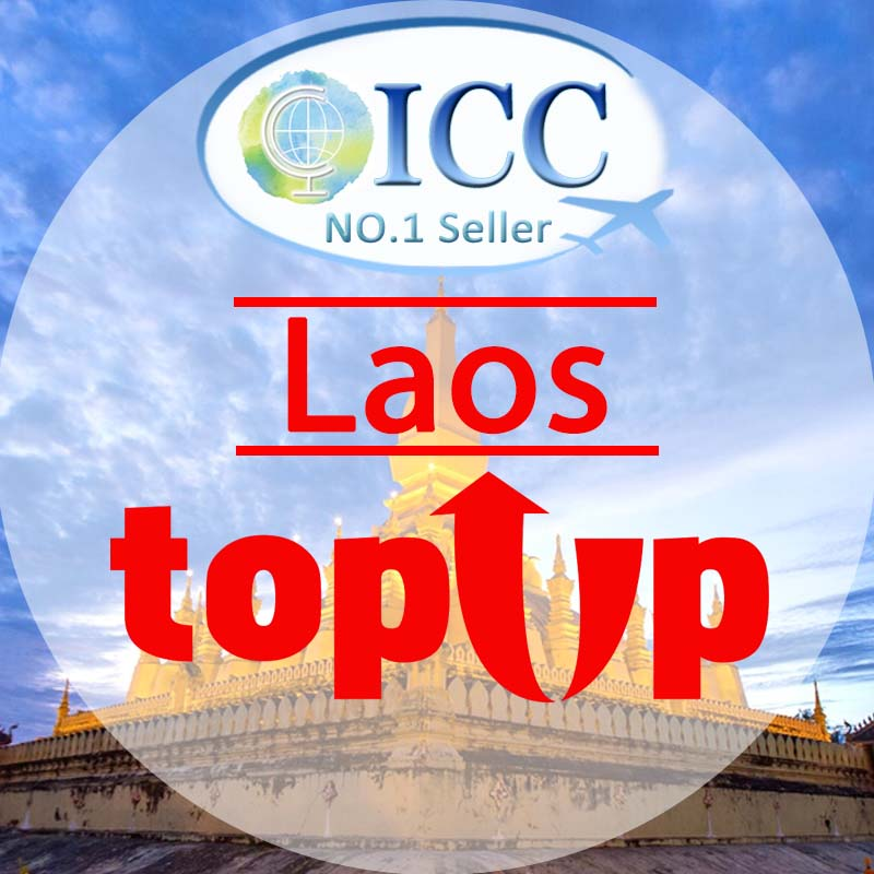 ICC-Top Up- Laos 1- 30 Days Unlimited Data