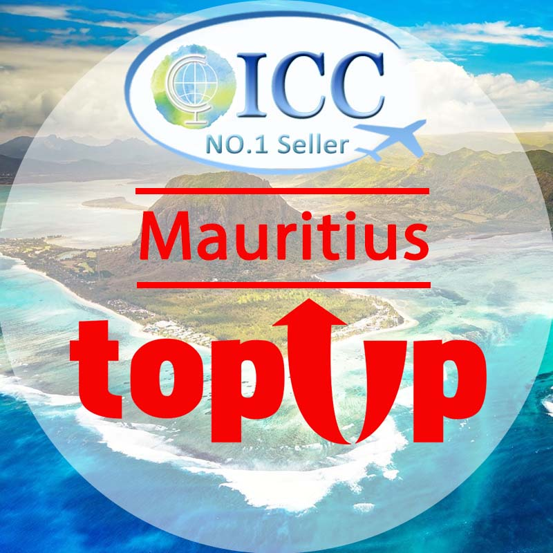 ICC-Top Up- Mauritius 1- 30 Days Unlimited Data