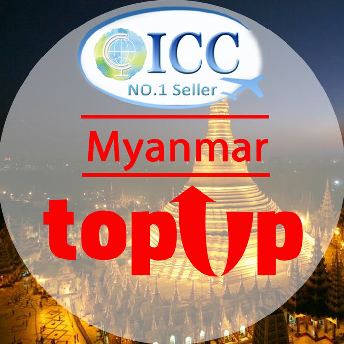 ICC-Top Up- Myanmar 1- 30 Days Unlimited Data