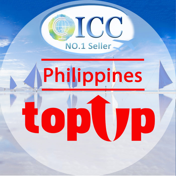 ICC-Top Up-【Philippines 1- 30 Days】Unlimited data Plan