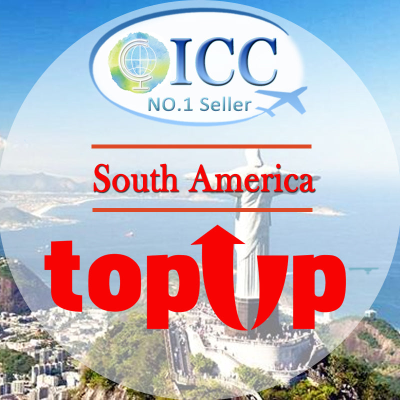 ICC-Top Up- South America 1- 30 Days Unlimited Data