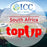 ICC-Top Up- South Africa 1- 30 Days Unlimited Data