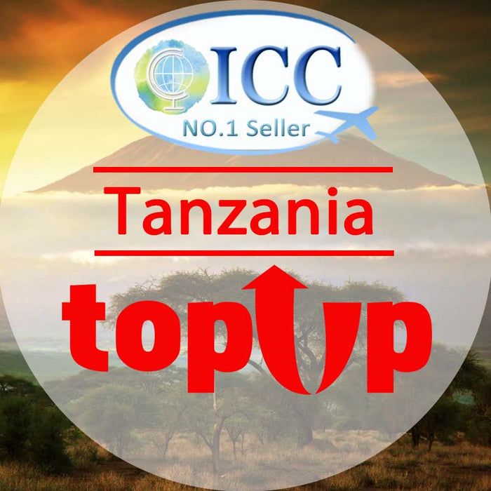 ICC-Top Up- Tanzania 1- 30 Days Unlimited Data