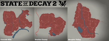 Which of the 3 maps is the best in State Of Decay 2?