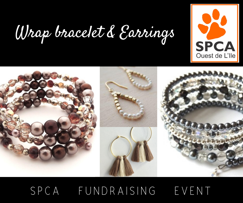 SPCA Ouest de l'Ile FUNDRAISING EVENT - Thursday October 4th, 7pm