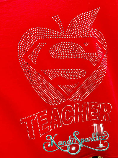 Super Teacher Tee - KandiSparklez