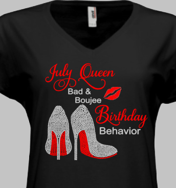 Bad & Boujee Birthday T-Shirt - KandiSparklez