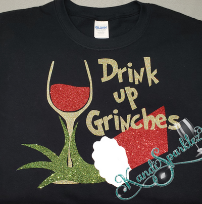 Drink Up Grinches Tee - KandiSparklez