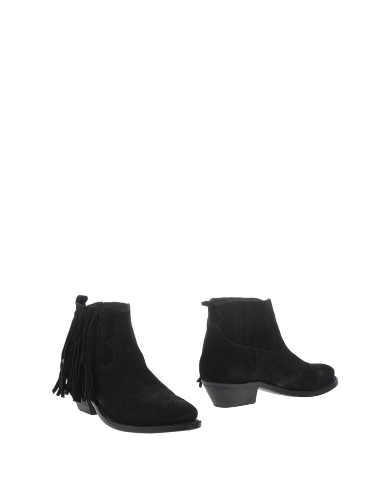 Golden Goose Deluxe Brand Black Suede Ankle Boots