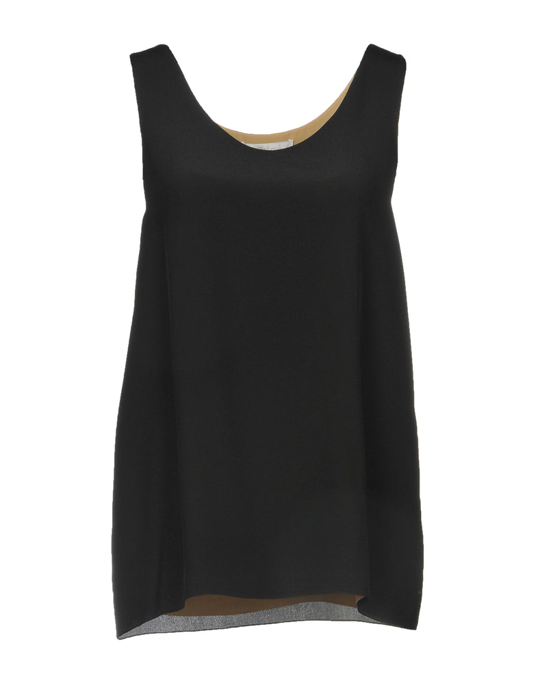 Chloé Black Sleeveless Top