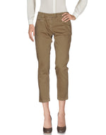 Dondup Khaki Low Waist Straight Leg Casual Trousers