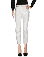 Chloé White High Waist Slim Fit Tailored Trousers