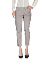 Dondup Light Grey Low Waist Casual Trousers