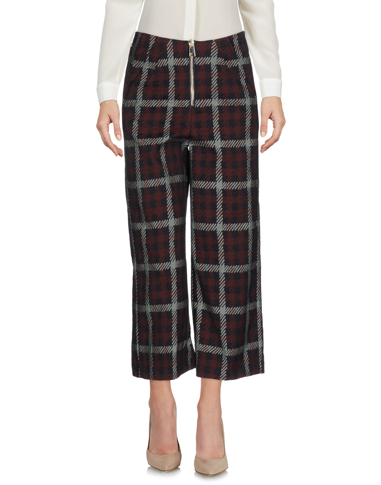 Dondup Cocoa Wide Leg Casual Trousers
