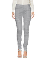 Dondup Grey Mid Rise Tapered Casual Trousers