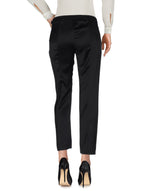 Dondup Black Regular Fit Casual Trousers