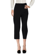 Dondup Black 3/4 Length Wide Leg Trousers