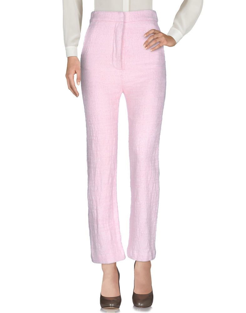Dondup Pink High Waist Tailored Trousers