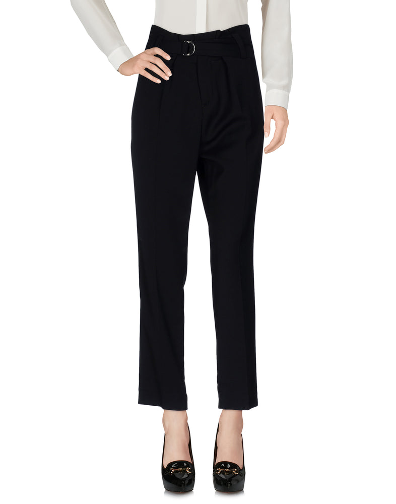 Dondup Black High Waist Tailored Trousers