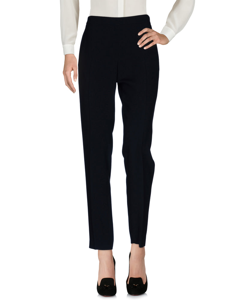 Chloé Dark Blue Mid Rise Tailored Trousers