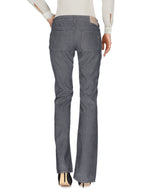 Dondup Grey Low Waist Wide Leg Trousers