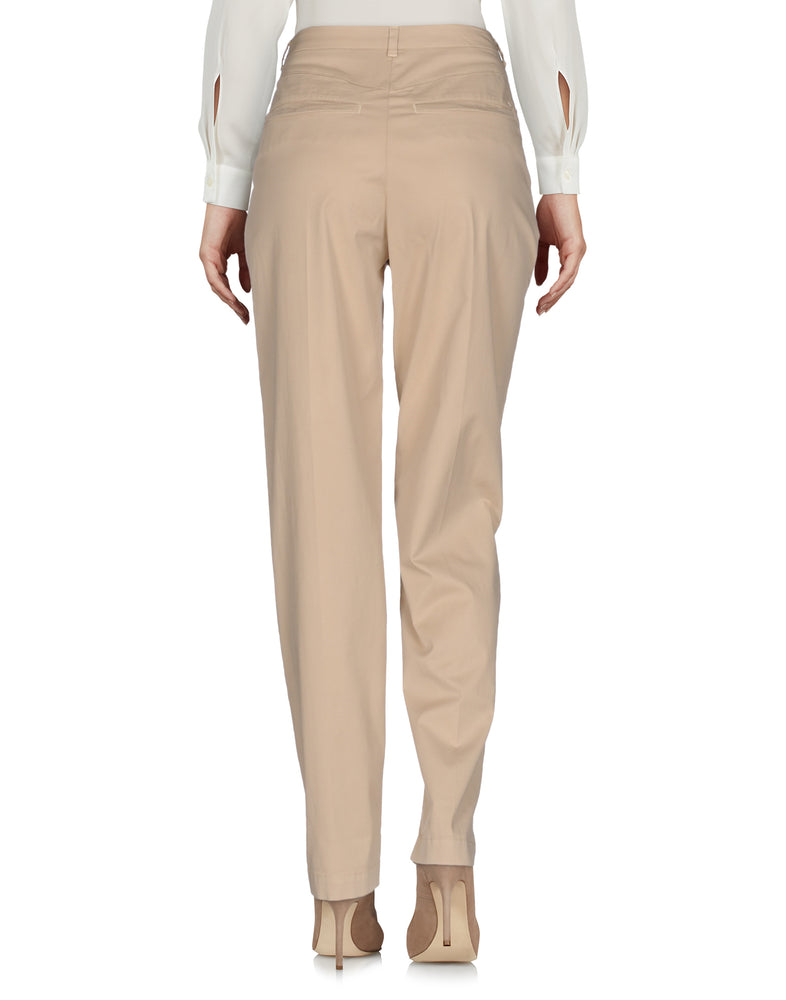 Armani Jeans Beige High Waist Casual Trousers