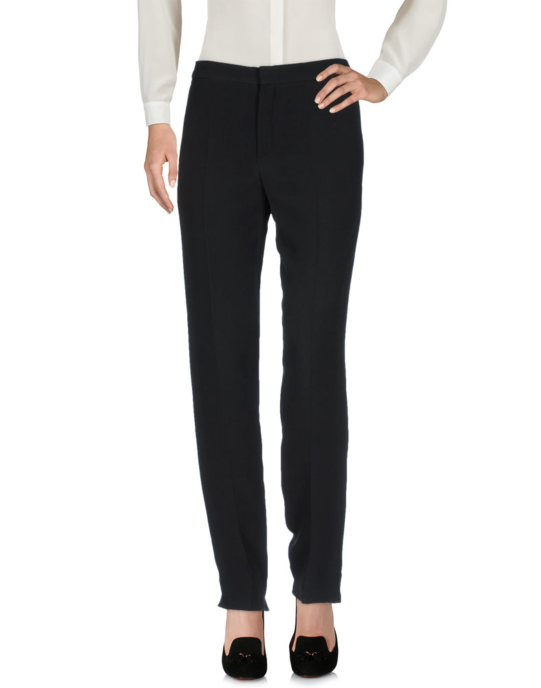 Chloé Black Mid Rise Tailored Trousers