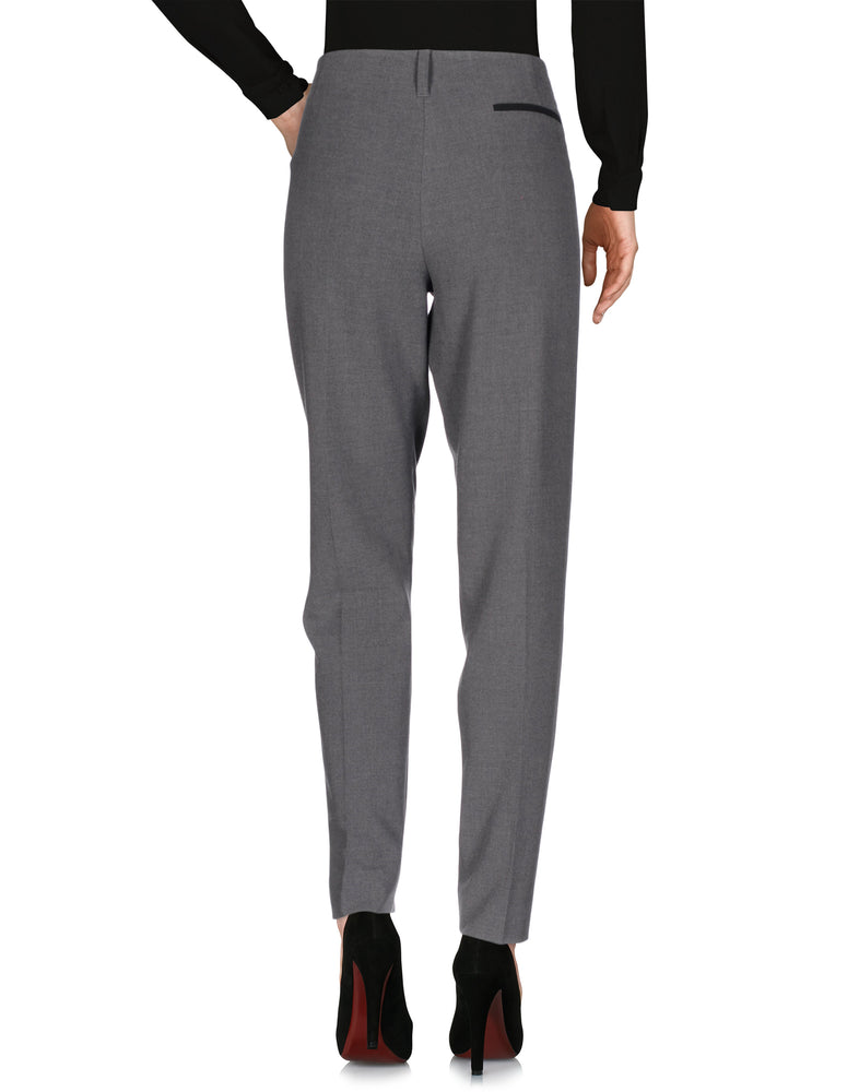 Armani Jeans Grey Mid Rise Tailored Trousers