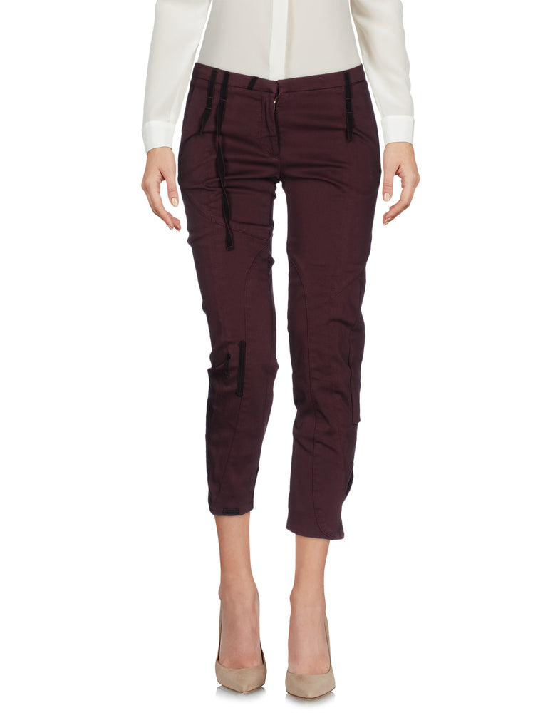 Dondup Deep Purple Regular Fit 3/4 Trousers