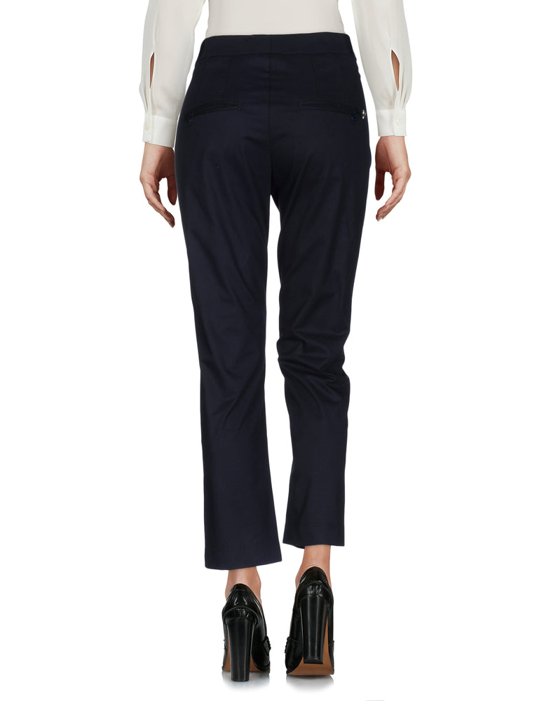 Dondup Dark Blue Straight Leg Tailored Trousers