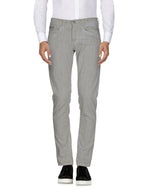Dondup Grey Low Waist Casual Trousers