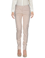 Armani Jeans Pale Pink Mid Rise Tailored Trousers