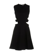 Dondup Black Zipped Sleeveless Dress