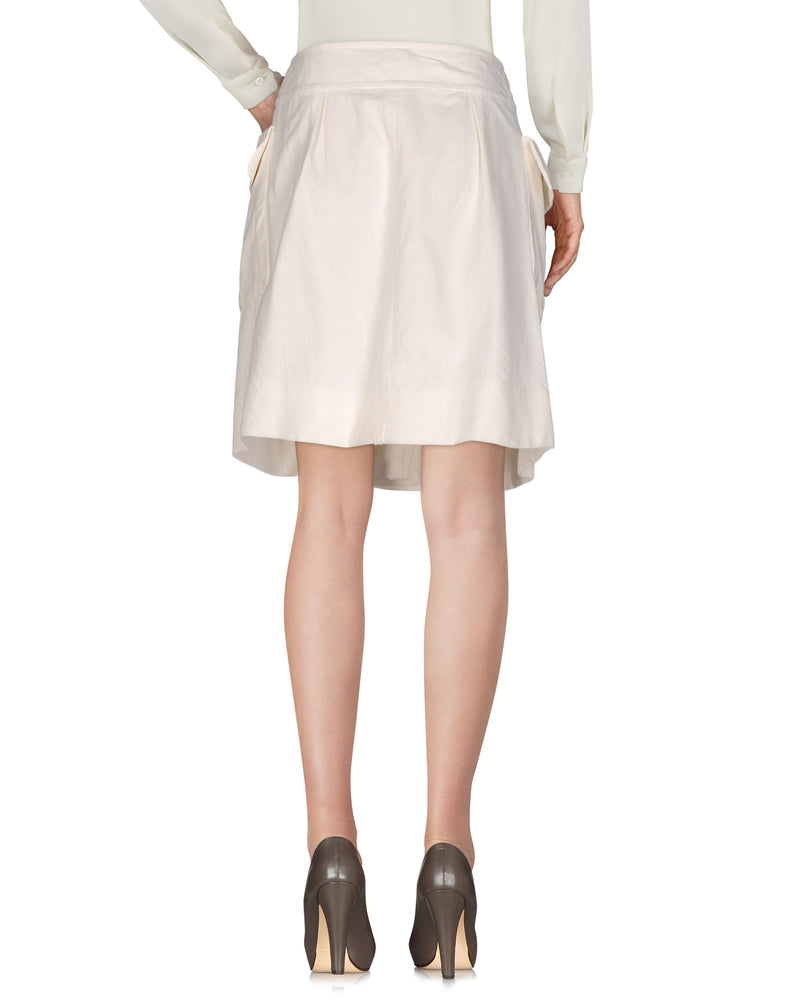 Chloé Beige Knee Length Stretchy Skirt
